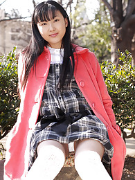 Asian slut is waiting in her school girl costume for her next willing customer sex pictures