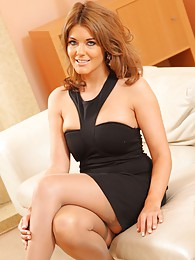 The beautiful Kelly M in black dress sex pictures