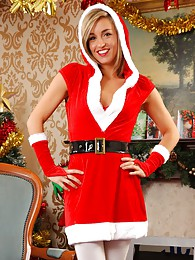 Melanie as a sexy Santa pictures