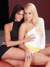 Brandy Smile and Britney engage in some afternoon lesbian fun pictures
