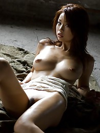 Hot Asian babe is quite a slut and strips off to show her big tits and fine ass sex pictures